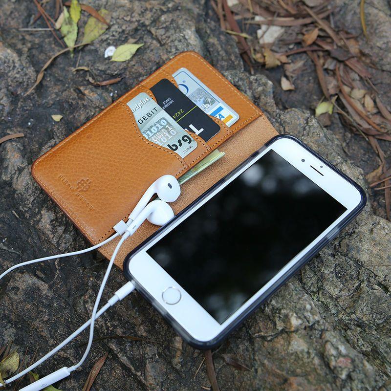Original mobile cases Für iphone 8 X flip fall 6 7 plus Echtem Leder Luxus Brieftasche Telefon Fall supreme brieftasche benutzerdefinierte name