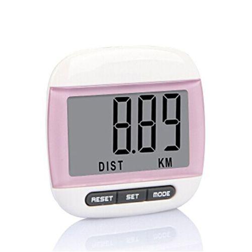 FÖRDERUNG! multifunktions Schrittzähler Distanz Kalorienzähler Messungen Rosa