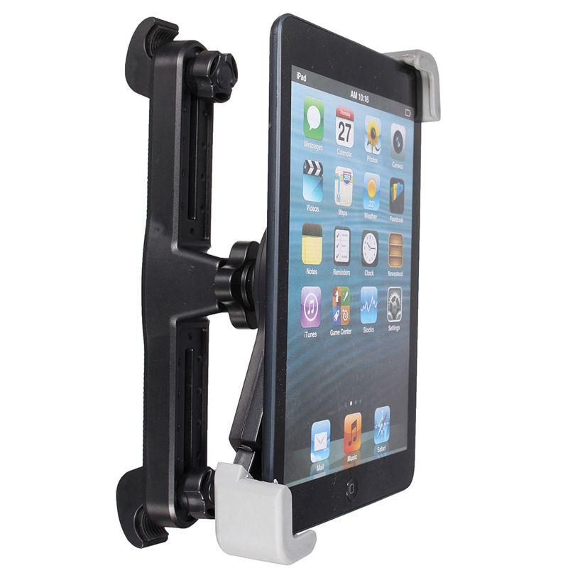 Neueste 360 Grad Universal Auto Rücksitz Kopfstütze Tablet Halterung für iPad 4 Mini 3 Air 2 Für Samsung Tablet Halter stehen