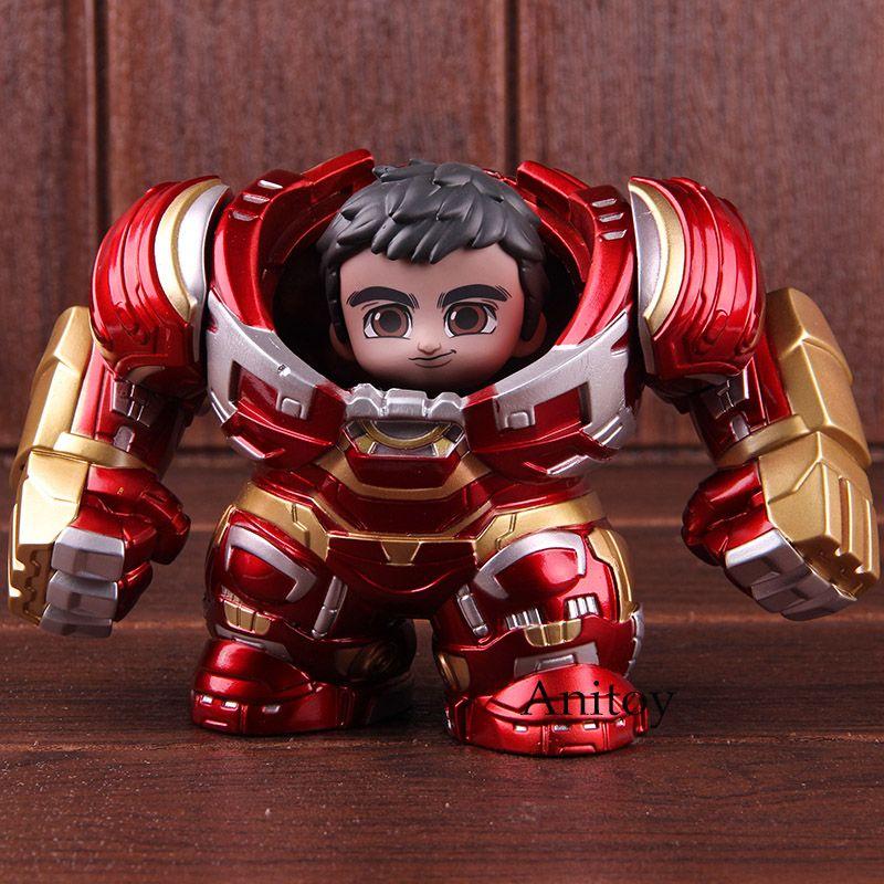 Avengers Unendlichkeit Krieg Buster Hulkbuster & Bruce Banner PVC Heiße Spielzeug Cosbaby Figur Action Marvel Sammeln Modell Spielzeug Set