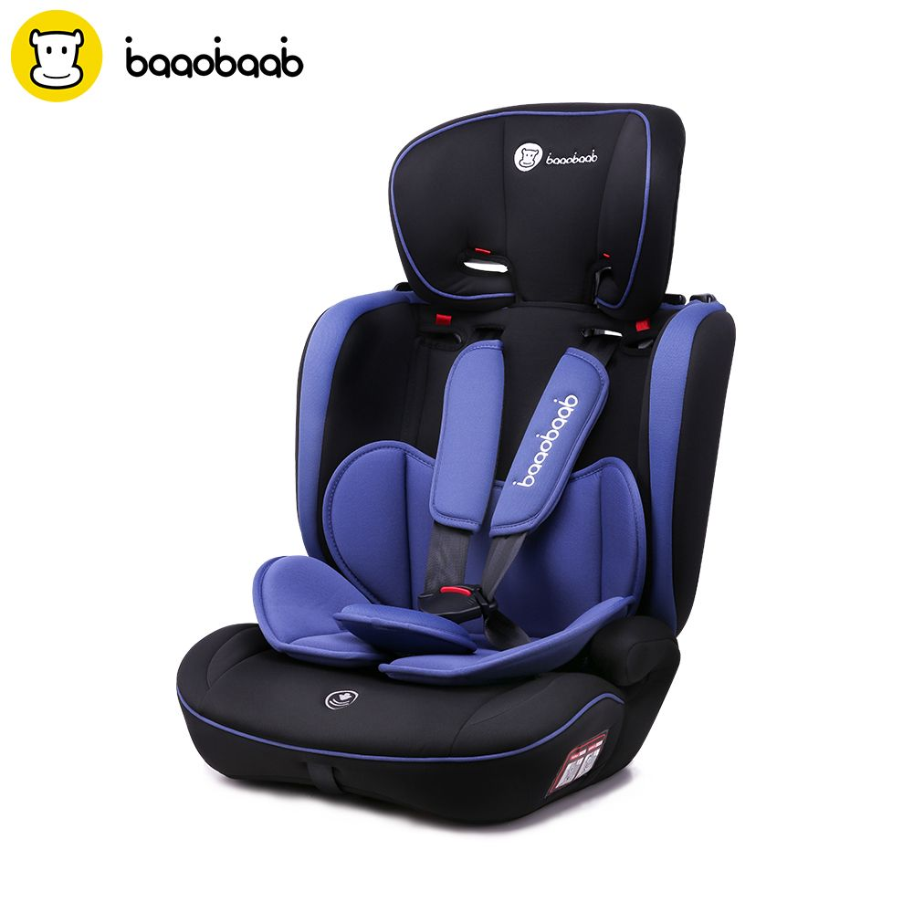 Baaobaab BA05A 9 Month -12 Years Child Car Seat Forward Facing 9-36 kg Group 1/2/3 Five-Point Harness Baby Booster Safety Seats