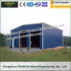 20ft * 21ft * 6ft prefabricate stahlkonstruktion garage für carport
