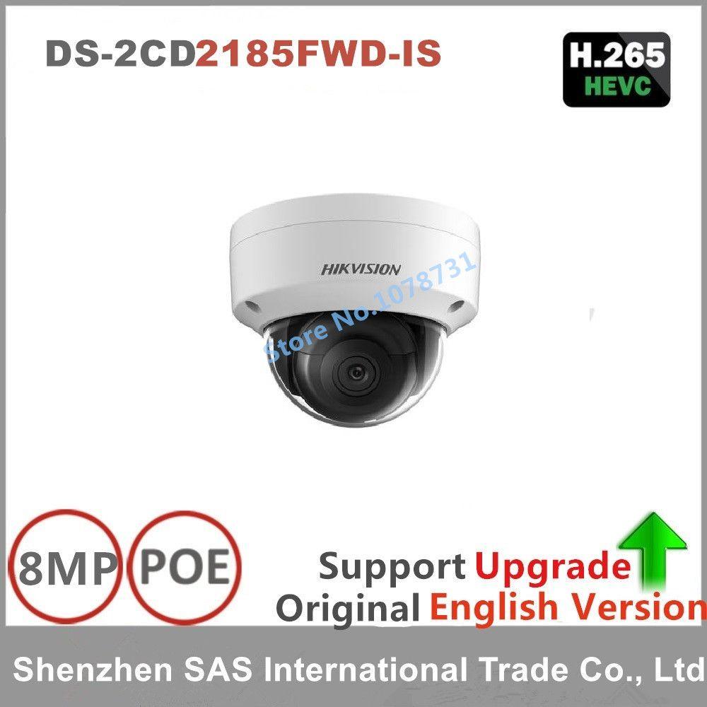Hikvision 8MP IP Kamera Netzwerk Dome Kamera DS-2CD2185FWD-IS 3D DNR Kugel Kamera mit Hoher Auflösung