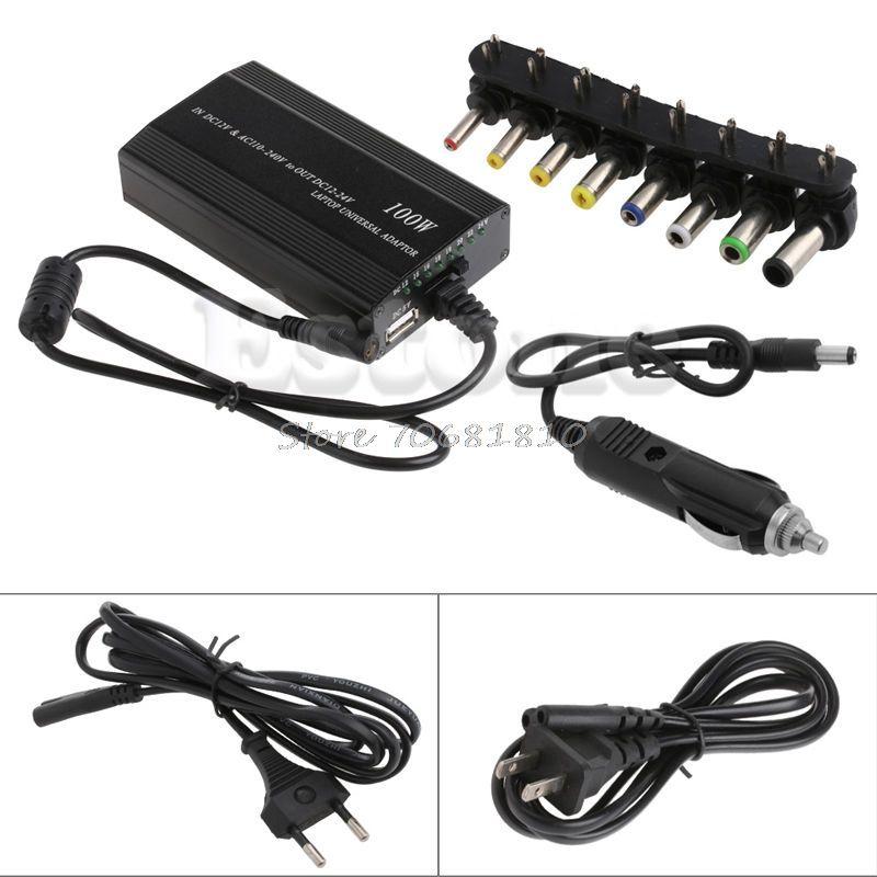 Dc Ladegerät Notebook Universal AC Adapter Netzteil Für Laptop 100 Watt 5A Z09 Drop ship