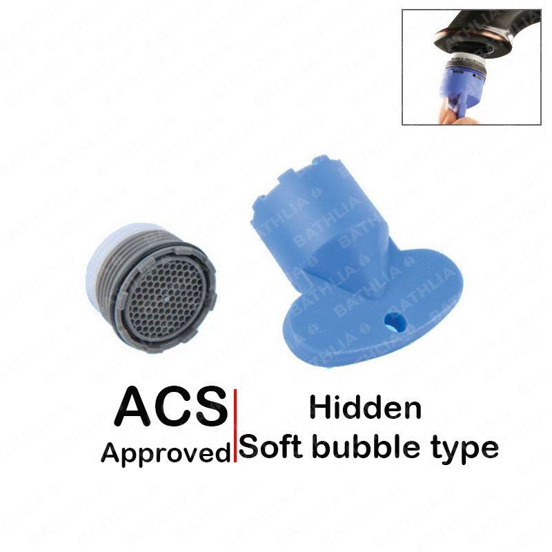 Wasserhahn Belüfter filter auslauf wassereinsparung versteckte belüfter für öffentliche wasserhahn