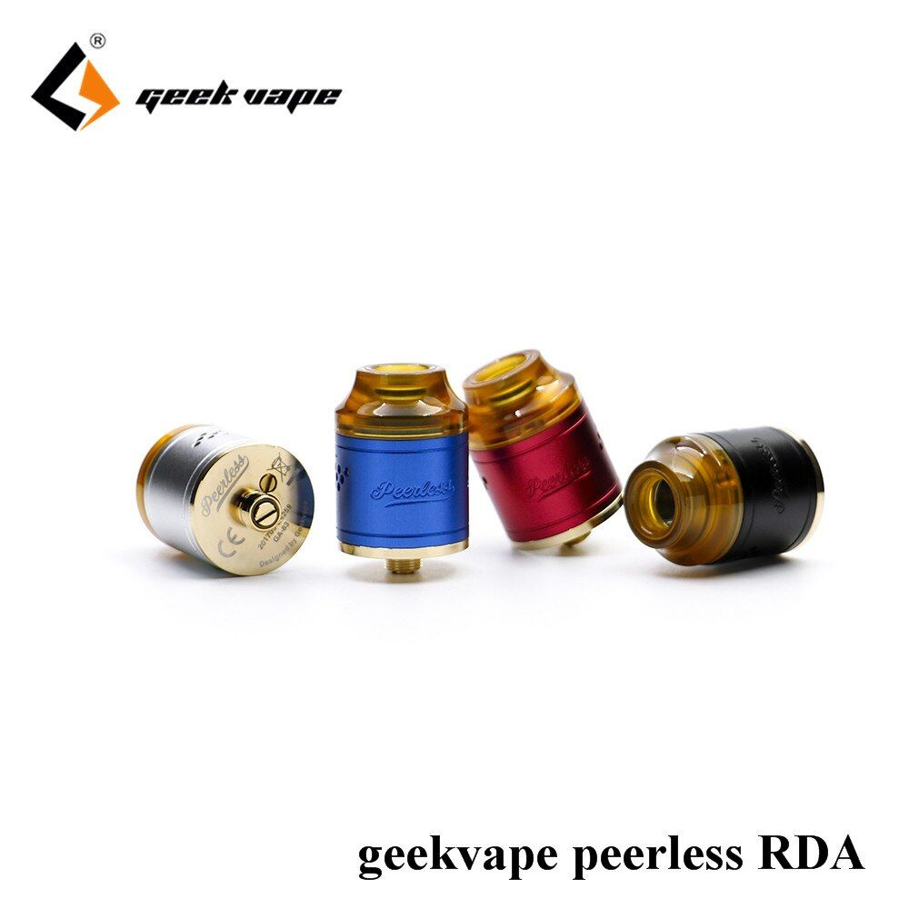 Best RDA of 2017 100% original Geekvape Peerless RDA 24mm better than desire mad dog RDA