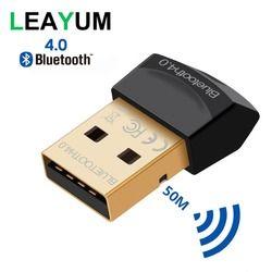 Adaptador Bluetooth V4.0 CSR modo Dual Wireless Mini USB Dongle Bluetooth 4,0 transmisor para ordenador PC