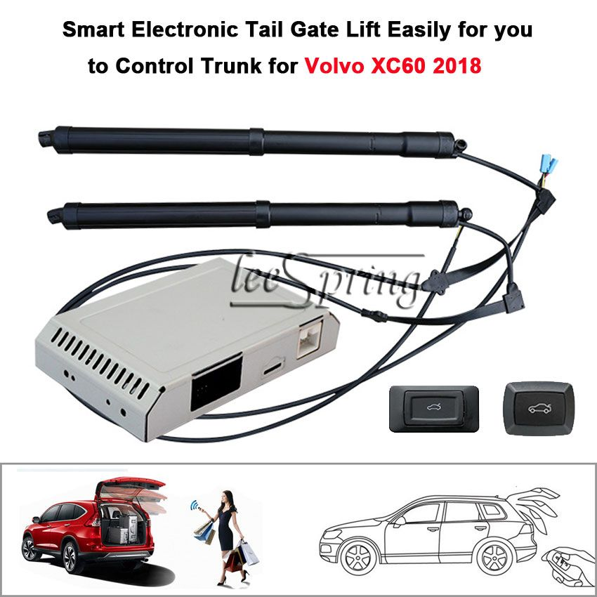 Car Electric Tail gate lift special for Volvo XC60 2018 with Latch Easily for You to Control Trunk