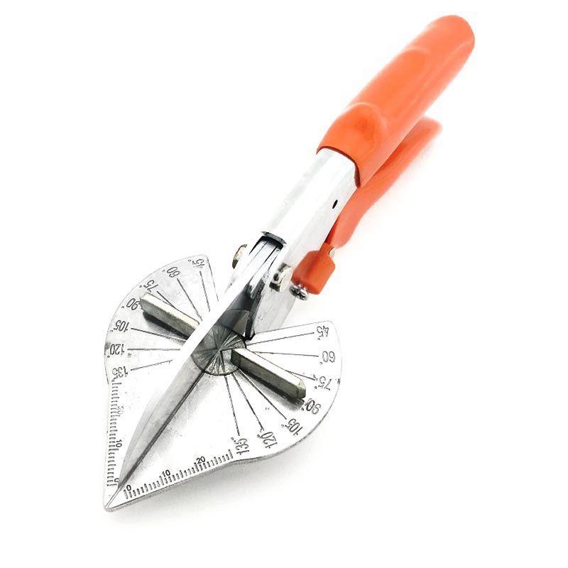 (Livraison directe) ciseaux d'angle de bord de carte de bord de 45 degrés 90 degrés/ciseaux d'angle multifonction/ciseaux de coupeur de fente de fil