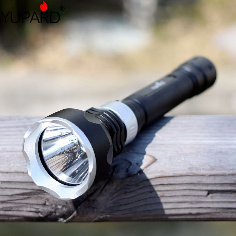 YUPARD XM-L2 T6 led underwater Diving Flashlight Waterproof yellow white light +2*rechargeable 18650 Battery+Charger