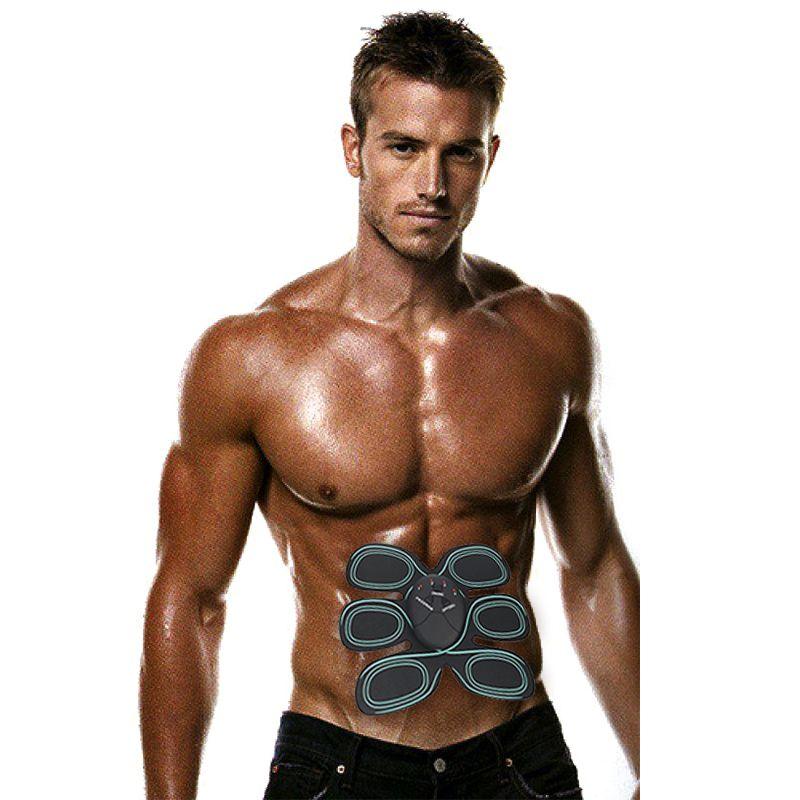 Stimulateur musculaire électrique Massage perte de poids Massage musculaire entraîneur EMS électronique masseur intensif pour Fitness santé ems