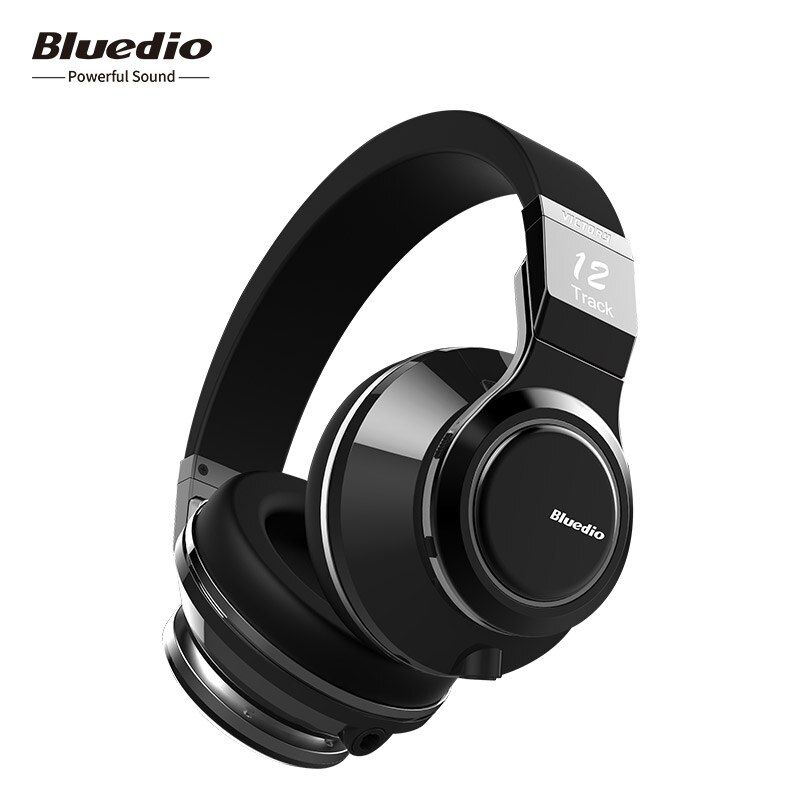 Bluedio V (victory) High-end Wireless Bluetooth Headphones PPS12 Drivers Smart Touch Design Over-ear headsets with microphones