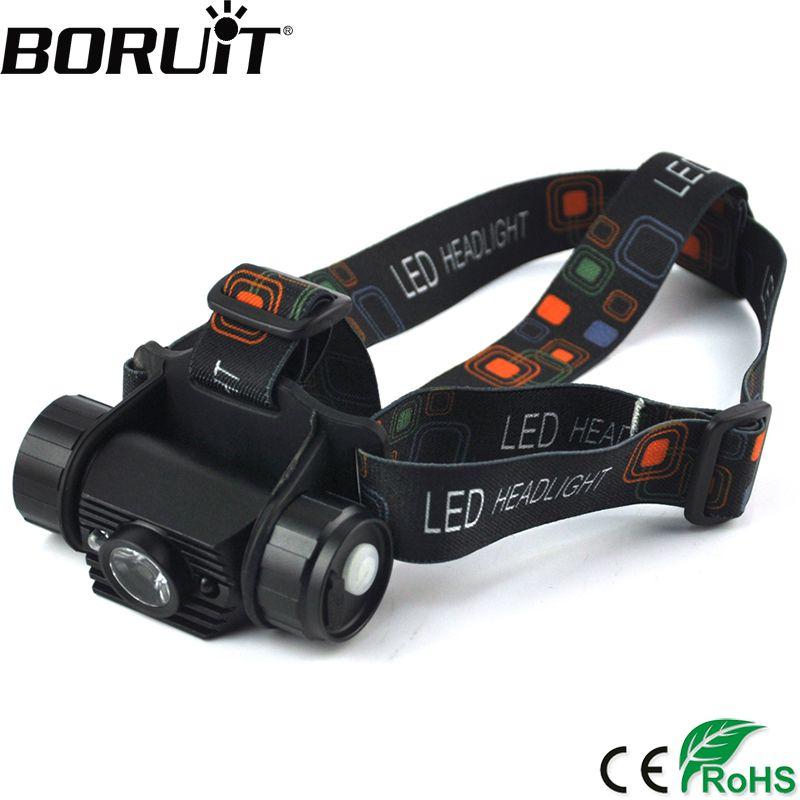 BORUiT 3 Watt Mini IR Sensor Scheinwerfer Induktion USB Wiederaufladbare Scheinwerfer Camping Taschenlampe Jagd Fackel durch 18650 Batterie
