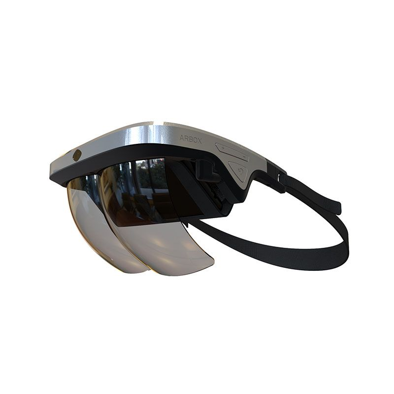 AR Augmented Reality Glasses New AR Box Holographic Effect Smart Helmet 3D VR Products