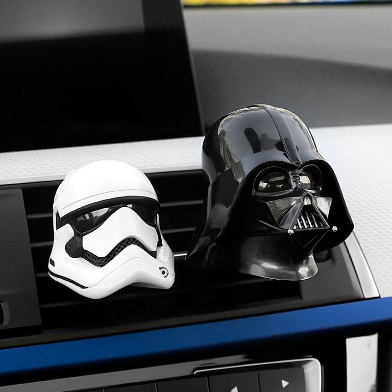 Car Styling Air Freshener Car Air Condition Vents Clip Decorative Cartoon for Star War Car Air Outlet Perfume Auot Decor