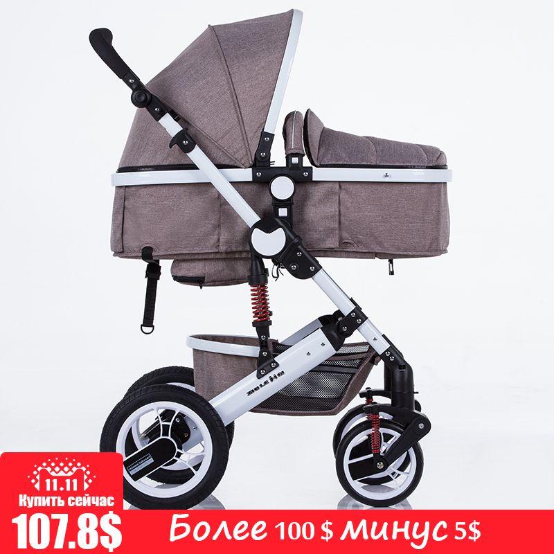 Zhilemei stroller landschaft kann sitzen oder liegen schock winter kinder baby allradkinderwagen deck trolley kostenlose lieferung