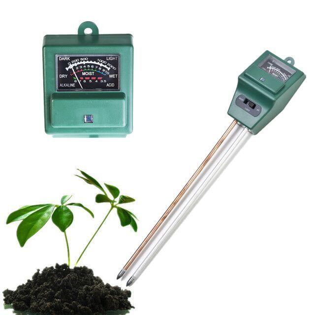 Digitale PH-Meter 3 in 1 pflanzen Blumen Boden Wasser Licht Tester Sensor Monitor für Aquarium Indoor Gartenpflanze Blumen PH meter