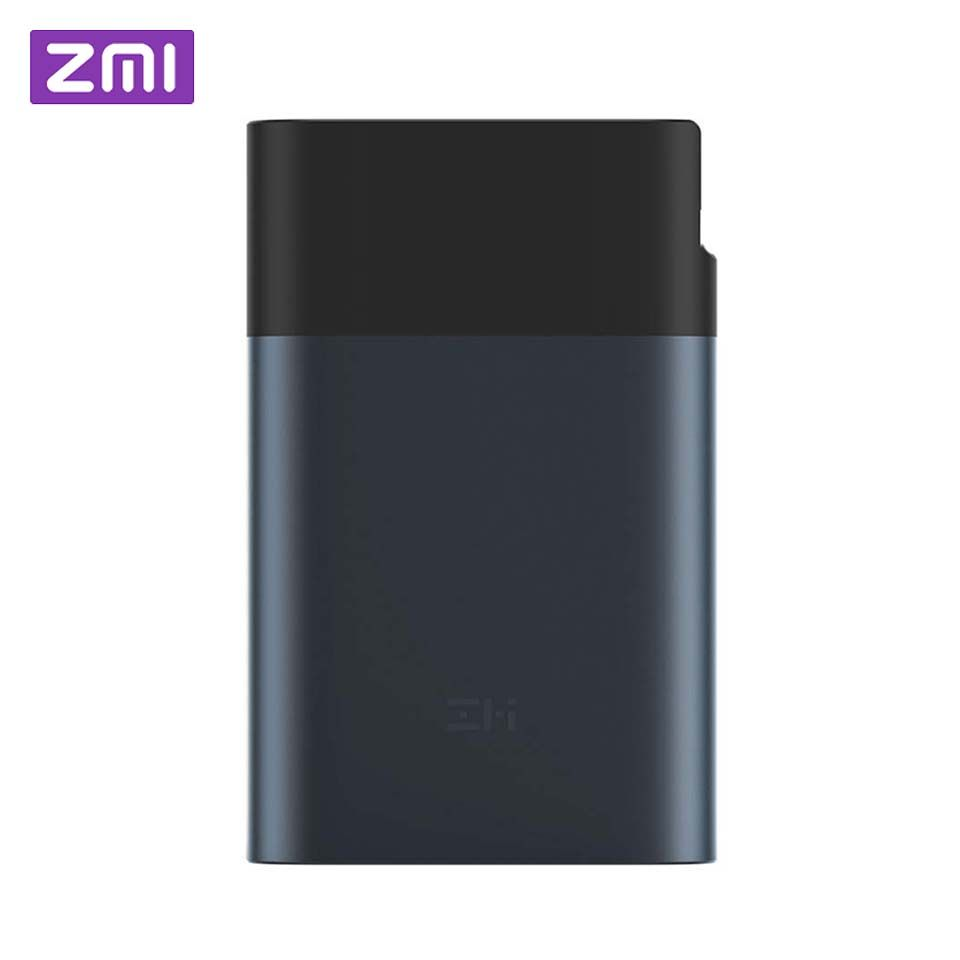 Original Xiaomi ZMI 3G 4G Wifi Router 10000 mAh Power Bank LTE Mobile Hotspot 10000mAh QC 2.0 Quick Charge Battery Powerbank