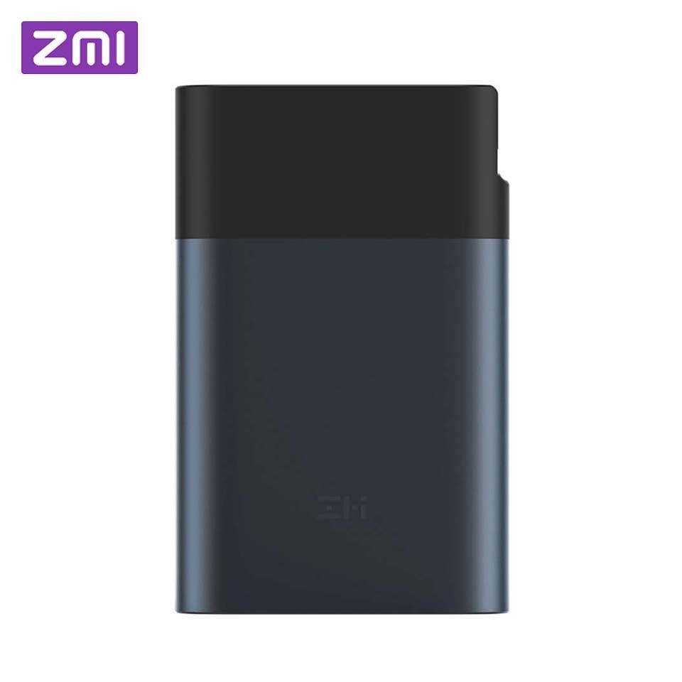 Original Xiaomi ZMI 3g 4g Wifi Router 10000 mah Power Bank LTE Mobile Hotspot 10000 mah QC 2,0 schnell Ladung Batterie Power