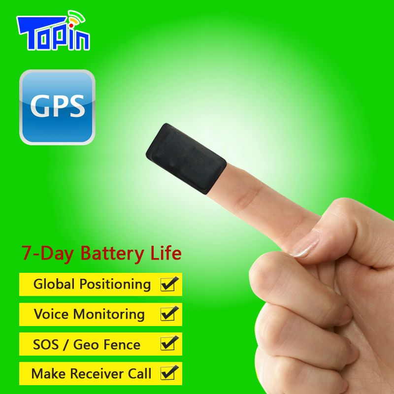 Topin T3 Mini GPS Tracker GSM LBS T7 Tracking Locator Vibration Alarm APP Voice Recorder to FTP Server for Child Dog Vehicle Car