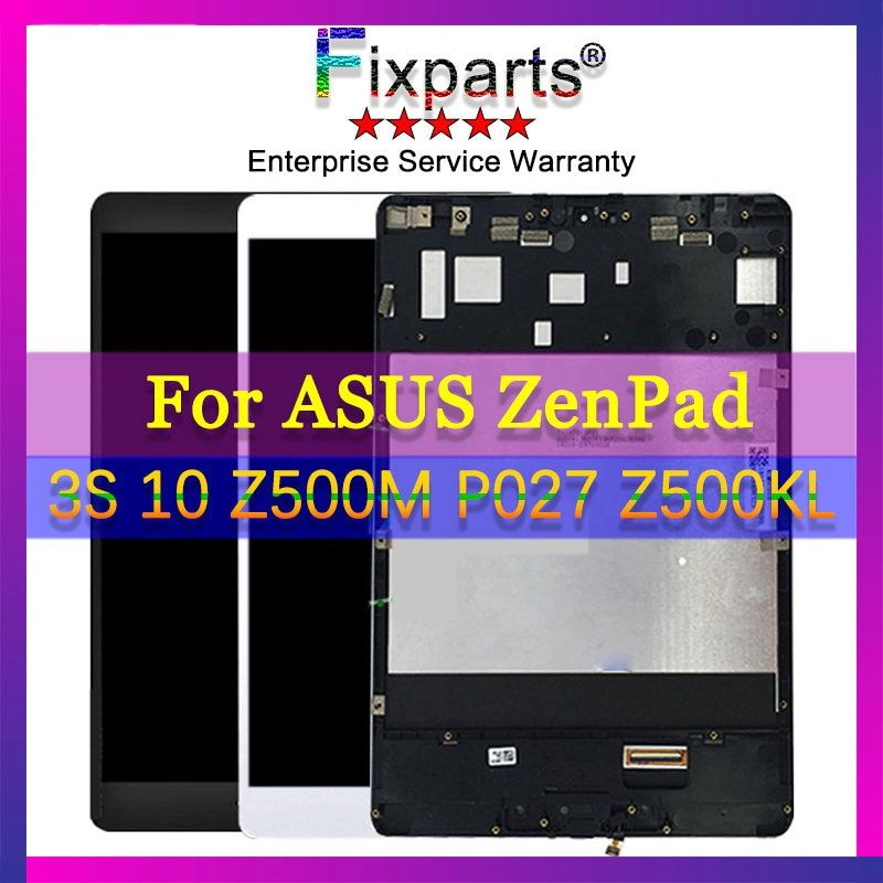 For 9.7 ASUS ZenPad 3S 10 Z500M P027 Z500KL LCD Display Touch Screen Digitizer Assembly LCD Replacement For ASUS ZenPad Z500M