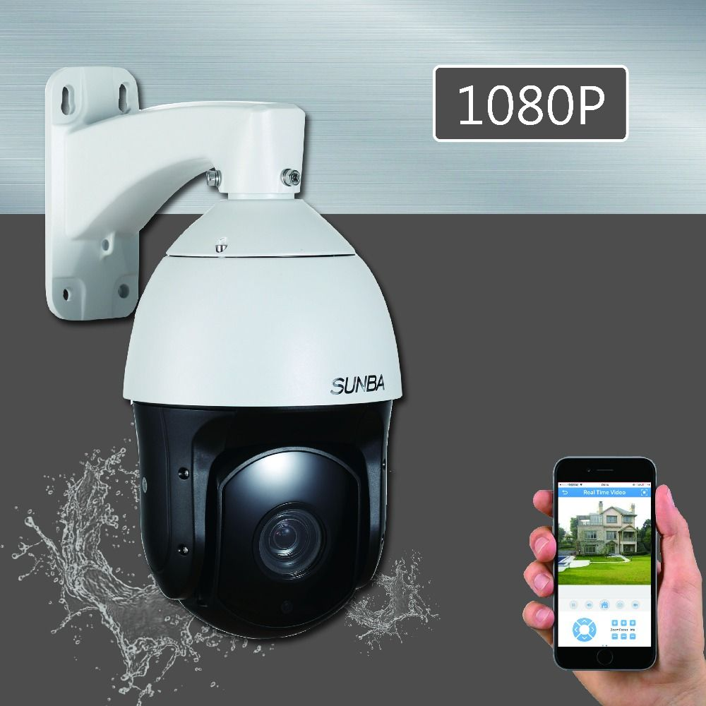601 PoE (Audio) PTZ IP Camera 2MP1080P 20X Laser IR-Cut Night Vision Waterpoorf High Speed ONVIF Dome Outdoor Security Camera