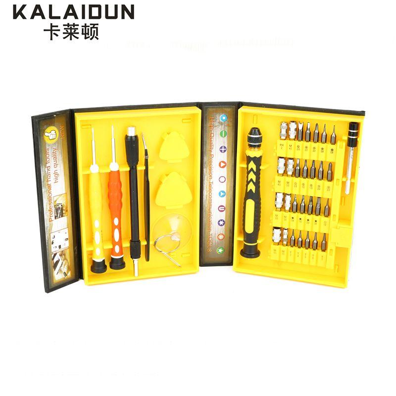 KALAIDUN 38 en 1 Polyvalent Tournevis de Précision Repair Tool Kit Fix Pour Téléphone portable iPhone pour Portable outils à main