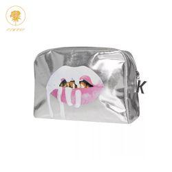 Oswego Make-Up Tasche Frauen Machen Up Tote Bag Zipper Fashion Große PU Reise Kosmetik Tasche Veranstalter Frauen Make-Up Tasche 2019