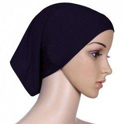 15 Couleurs Femmes Hijab Sous Écharpe Tube Cheveux Bonnet Cap Os Islamique Tête Couverture