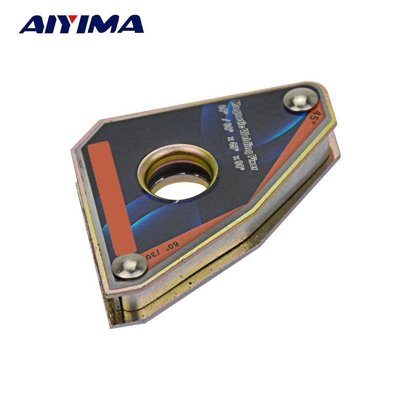 1pc Multi-angle Mini welding magnets Neodymium Clamp holder Never degaussing Lifting welding positioner CLA-30 Force 10KGS