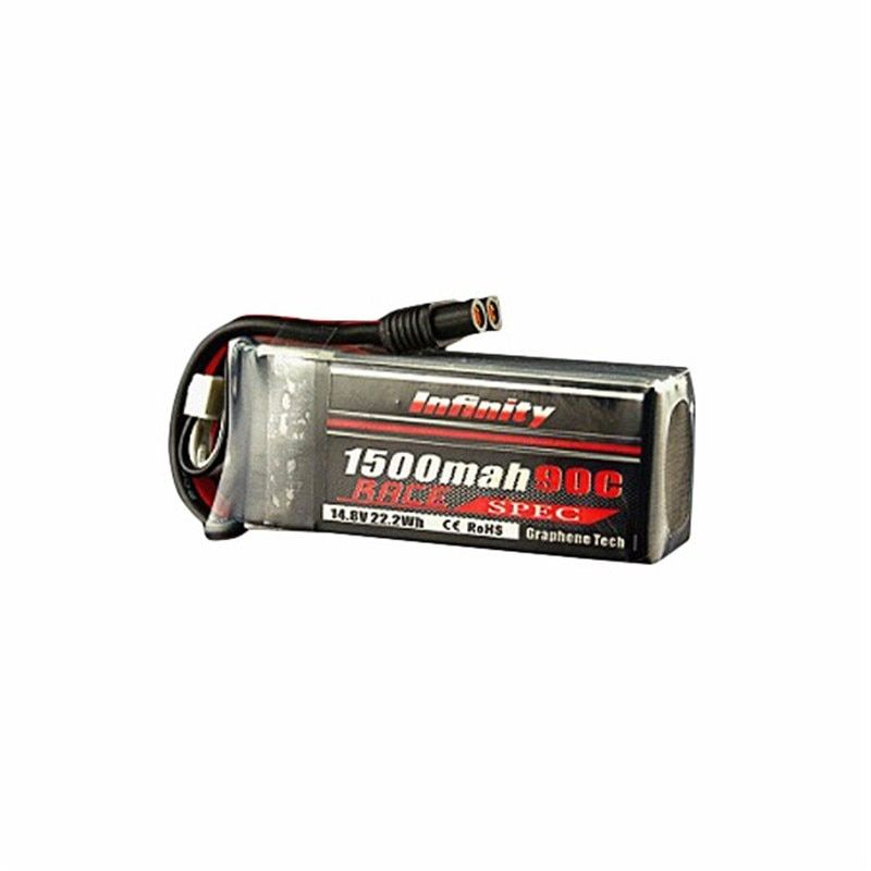 In Stock! For Infinity 1500mah 14.8V 90C 4S 1P Race Spec Rechargeable Lipo Battery For RC Toys Racing Drone FPV Quadcopter Power
