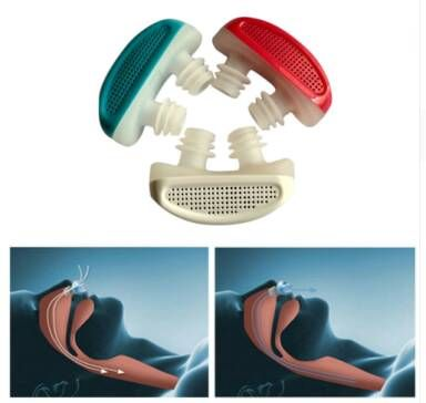 Stop Snoring Nose Breathing Apparatus Air Purifier Stop Grinding Relieve Snoring Men Women Health Sleep Aid Equipment bath toy