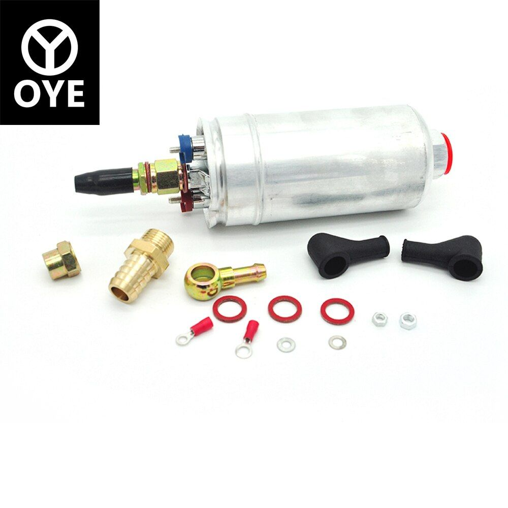 300LPH Universal External Inline high pressure Fuel Pump fuel bomb For Replace BOSCH E85 0580254044