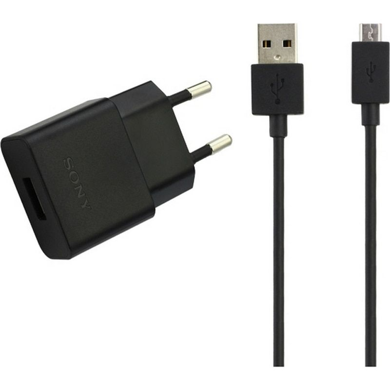 Original Sony UCH20 charger Travel charger + Sony Micro USB Cable For Sony Xperia Z1 Z2 Z3 Z4 Z5 COMPACT Z5 PREMIUM M4 AQUA