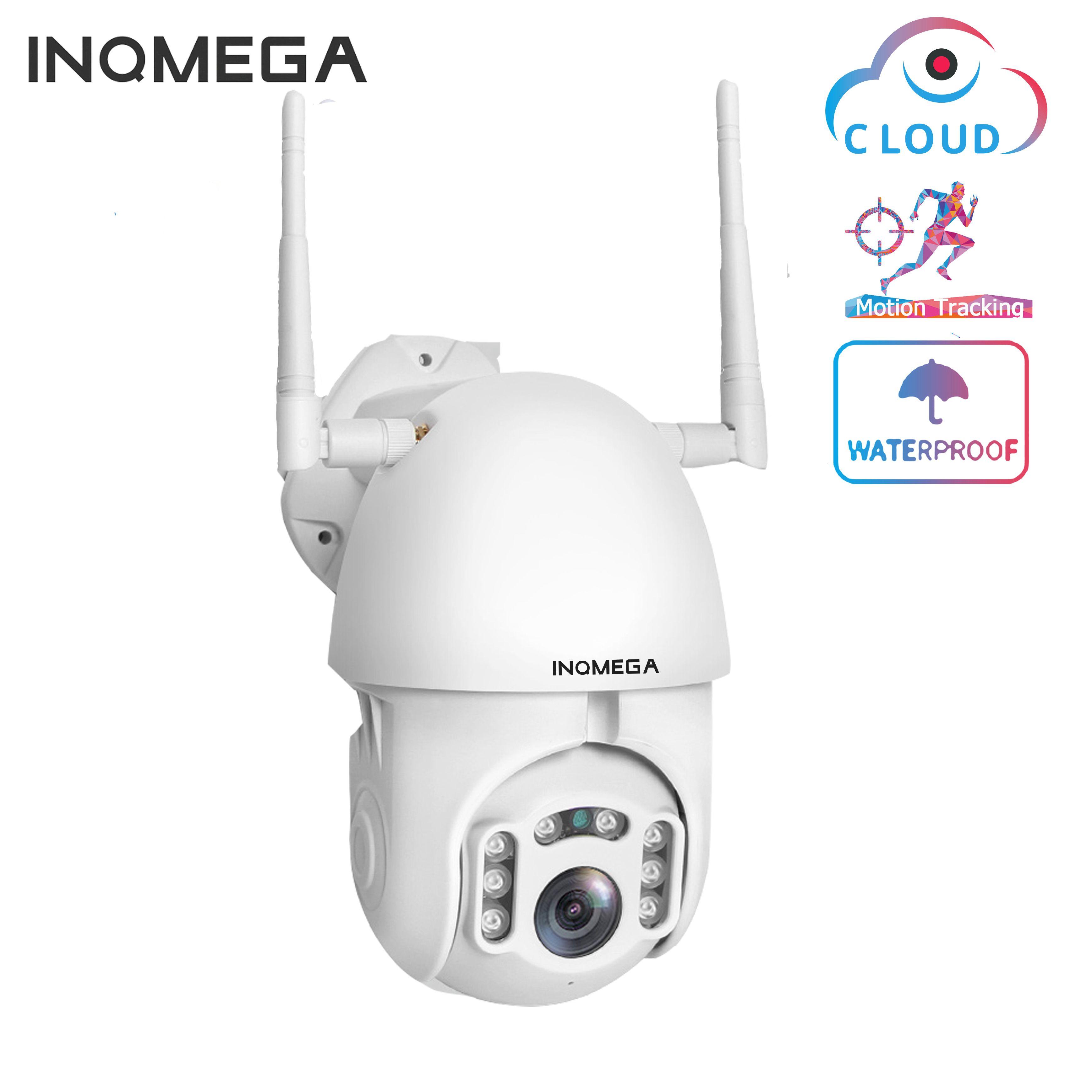 Caméra IP INQMEGA 1080P WiFi suivi automatique sans fil caméra dôme de vitesse PTZ caméra de Surveillance de sécurité CCTV extérieure caméra étanche