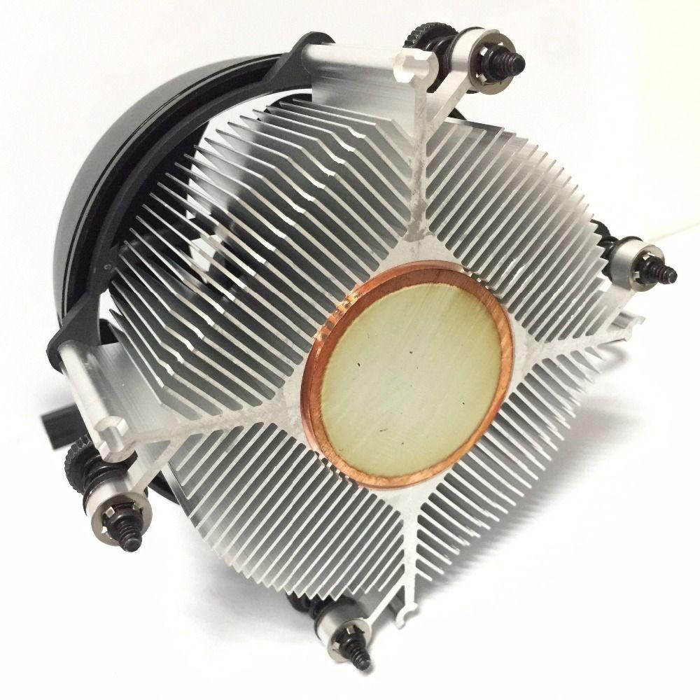AMD ryzen PC CPU Boxed heat sink Fan AM4 Radiator 4P 4-wire temperature control Copper core Cooler AM4 Cooling Fan