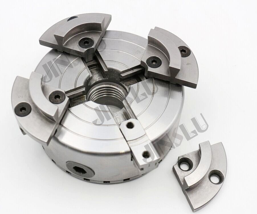 Wood-working scroll chuck self-centering chuck 5'' clamping range 20-100mm,thread connector M40*2