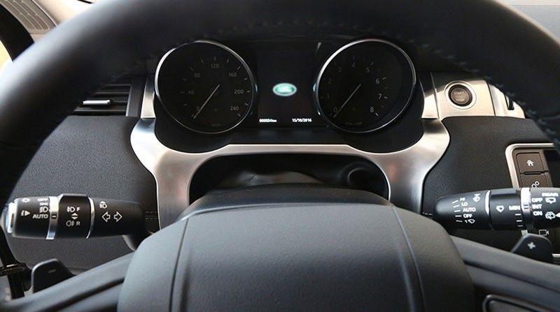 Chrome Dashboard Dekorative Abdeckung Trim Fit Für Land Rover Range Rover Evoque 2012-2016 Auto Innen ABS Chrome Auto zubehör