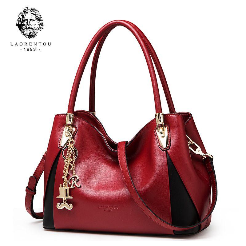 LAORENTOU Women Bags Luxury Leather Handbag Fashion Crossbody Bag Women's Bags Valentine's Day Present Ladies Casual Tote Purse