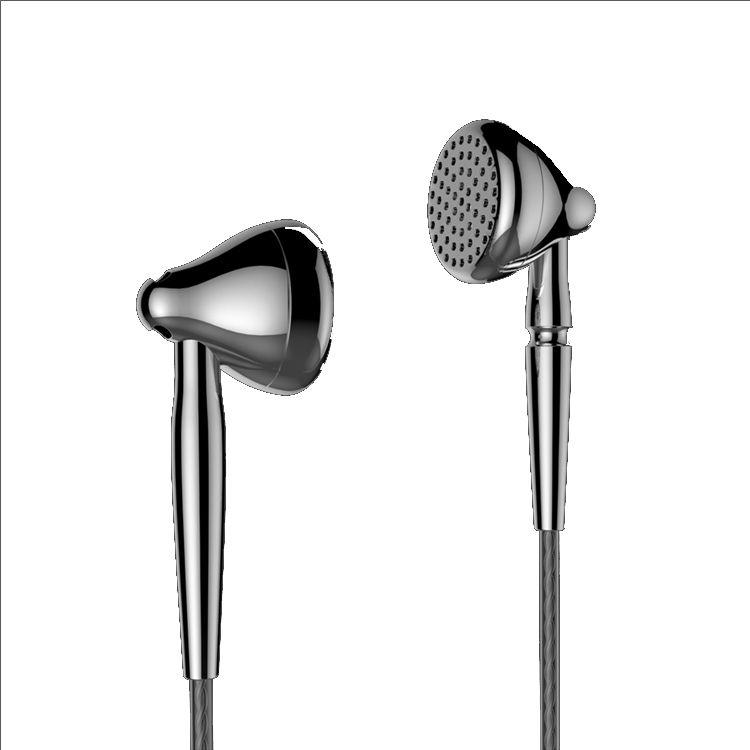 AK Moondrop Liebesleid In Earphone High Bass Qulity Flat Earbud Alloy Tune Earset 3.5mm Connector 2.5/4.4mm Balance Connector