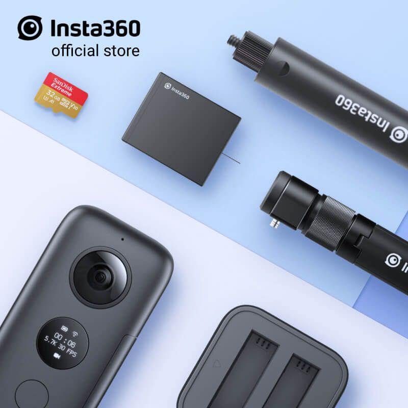 Insta360 ONE X Sport Action Kamera 5,7 K Video VR 360 Für iPhone und Android