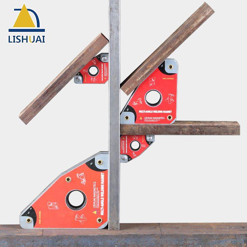 LISHUAI Multi-Angle Magnetic Welding Clamp/Strong Neodymium Magnet Welding Holder WM4