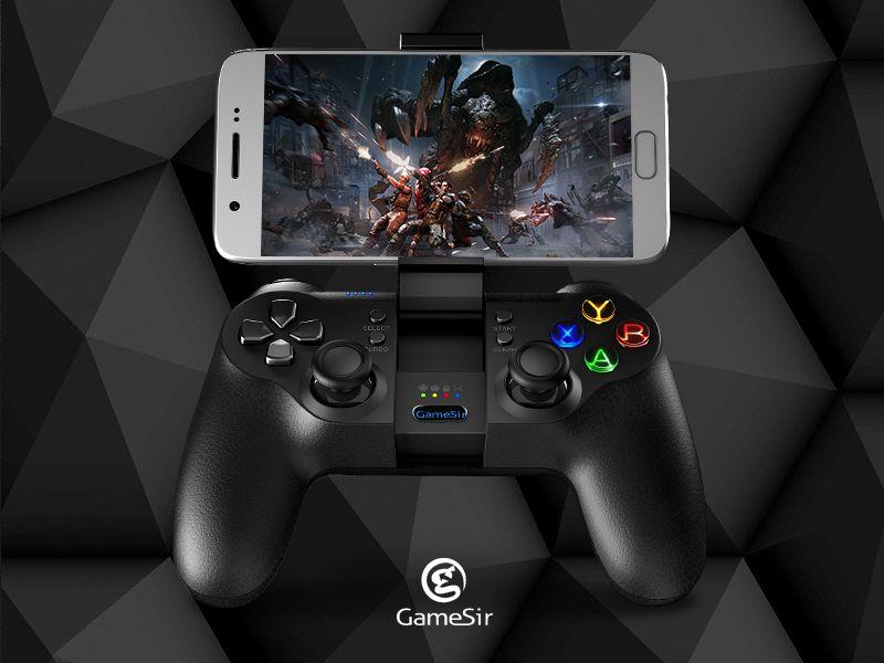 Gamesir коврик T1s Bluetooth Беспроводной игрового контроллера геймпад для мобильного легенда, AOV игры, remaping, android/Оконные рамы/VR/ТВ коробка/PS3