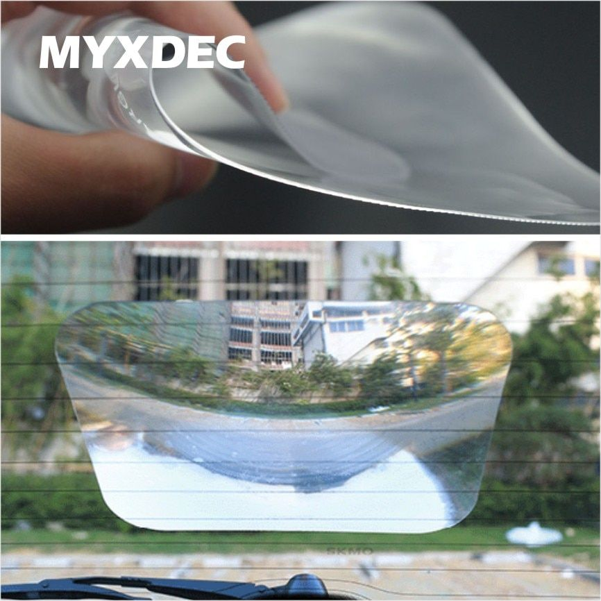 Car Wide Angle Fresnel Lens Car Parking Reversing Sticker Useful Enlarge View Angle Optical Fresnel lens Car Styling