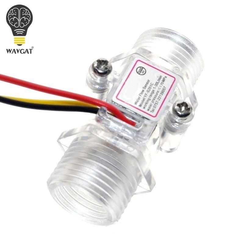 4 sterne transparent fluss sensor turbine flow meter wasser flow sensor transparent wasser meter