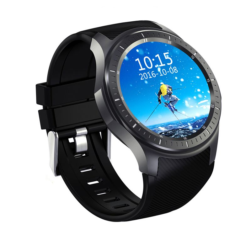 HEINO New Dial Call Quad Core 512MB+8GB RAM Heart Rate Monitor Smart Watch Android 5.1 3G/WiFi/GPS SIM Card Anti lost DM368