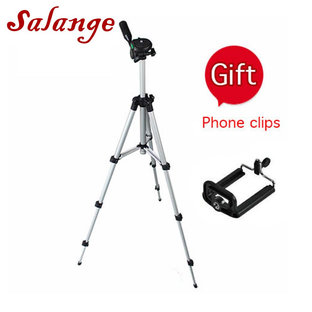 Protable Action Camera Tripod Accessories Stand for Sony Nikon Canon Camera DV mobile phone proyector universal 1/4 Screw
