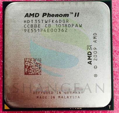 AMD Phenom X6 1035 T X6-1035T 2.6 GHz à Six Cœurs processeur d'unité centrale HDT35TWFK6DGR 95 W Socket AM3 938pin