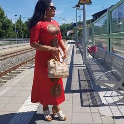 2017 Baru Afrika Desain Bazin Seksi Hollow Out Harus Besar Bordir Panjang Dashiki Gaun untuk Wanita
