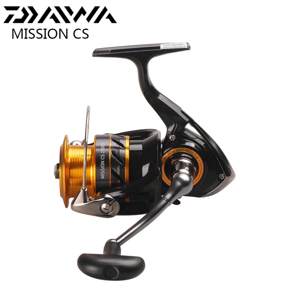 DAIWA MISSION CS Spinning Fishing Reel 2000 2500S 3000S 4000S 5.3:1 4BB Moulinets De Peche Spinning Wheel Carretilha